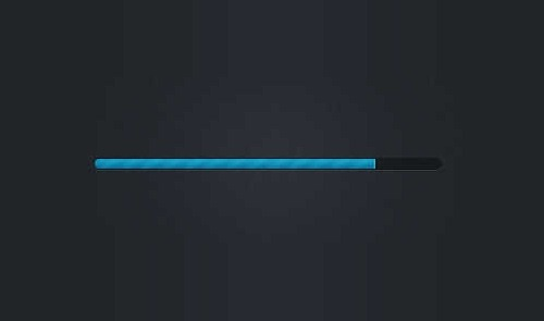 how to create a progress bar for a slider