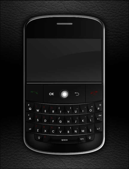 create-a-realistic-style-blackberry-mobile-phone