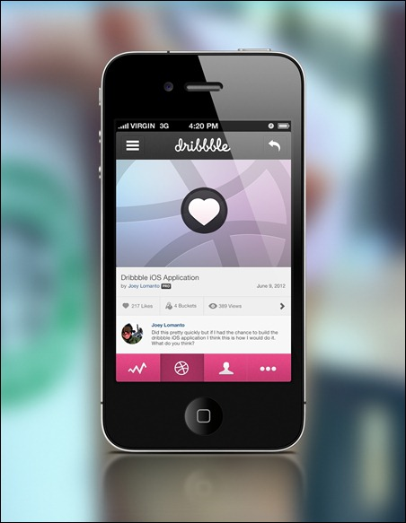 dribbble-tap-to-like-