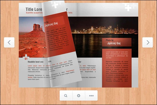 responsive-flip-book-jquery-plugin