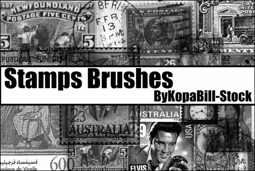 stamps-brushes