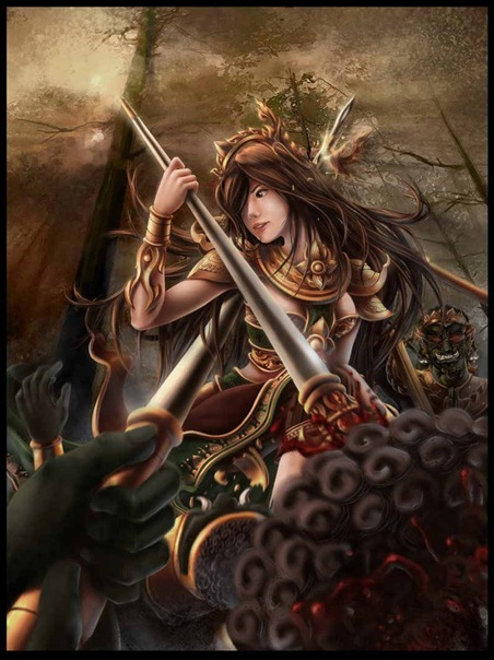 thai-ancient-warrior