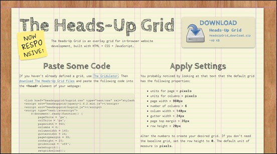 the-heads-up-grid
