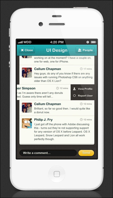 ui-design-chat-forum