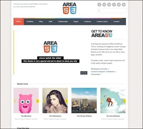 area53-responsive-simple-theme-for-wordpress
