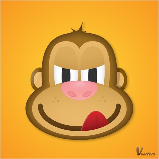 create-the-face-of-a-greedy-monkey