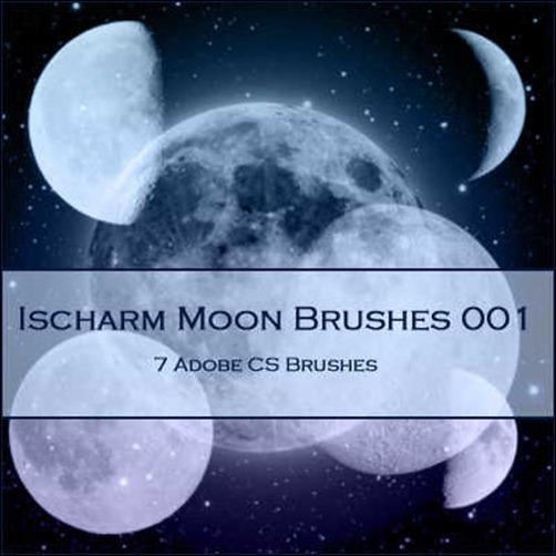 ischarm-moon-brushes
