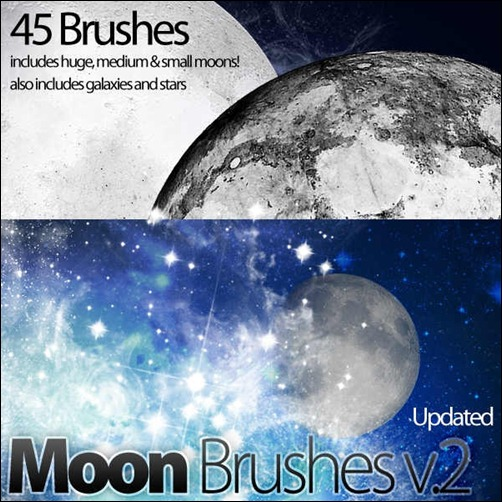 moon-brushes
