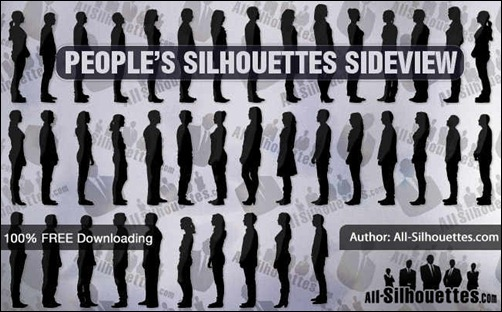 people-silhouettes-sideview