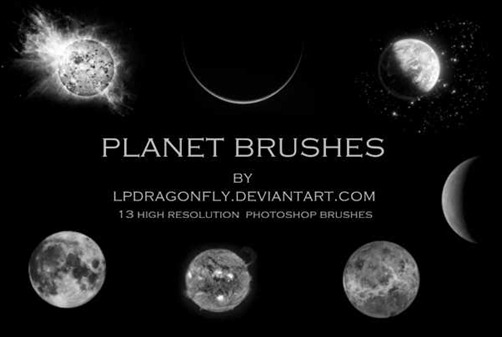 planet-brushes
