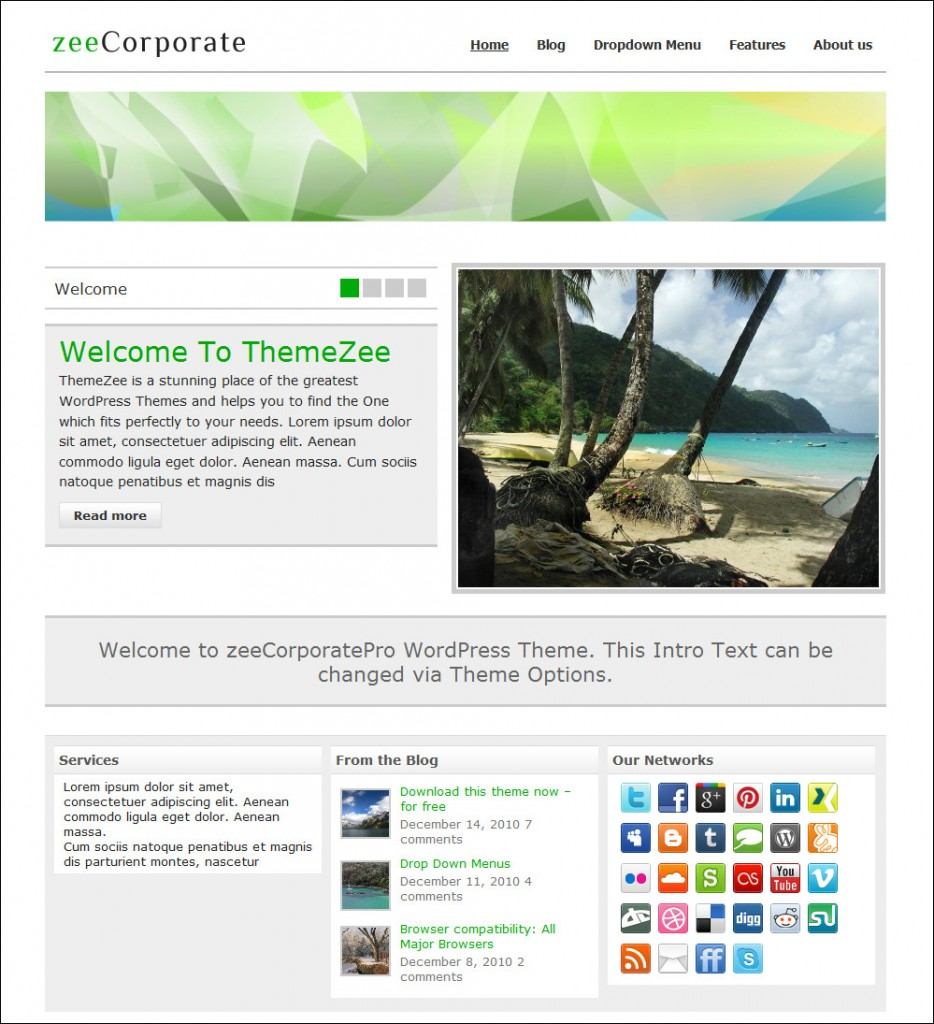 zeecorporate-wordpress-theme