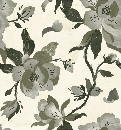 black-magnolia-pattern