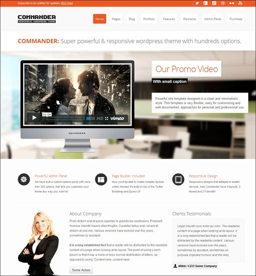 commander-wordpress-business-theme