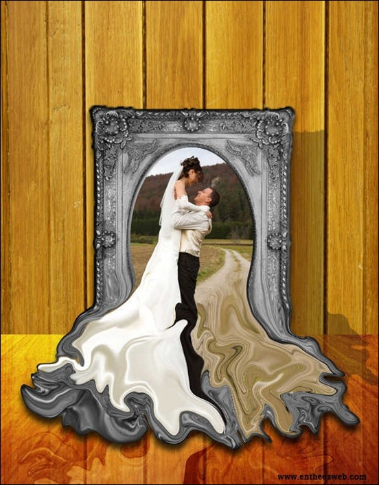 create-a-melting-photo-frame-in-photoshop