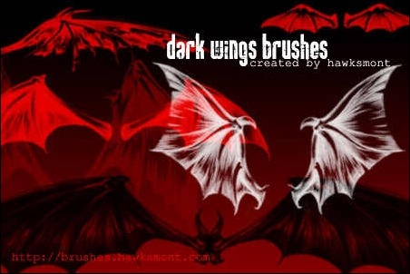 dark-wings-brushes-by-hawksmont