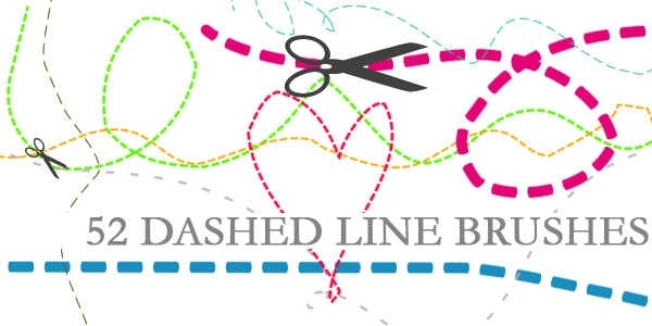 How To Make Curved Dotted Lines Paint