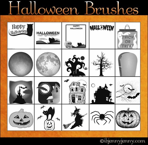 free-halloween-photoshop-brushes