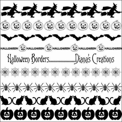 halloween-border-brushes