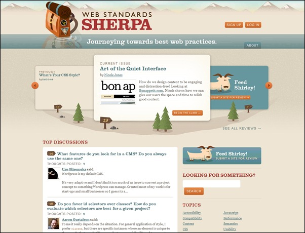 web-standards-sherpa