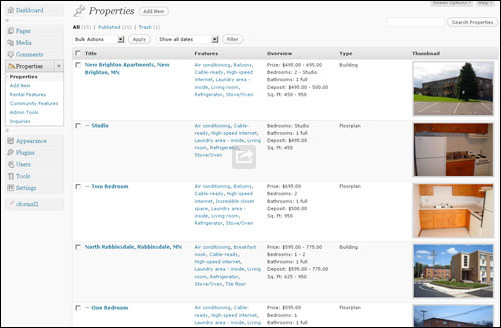 wp proberty Real Estate WordPress Plugins