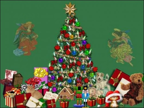 Christmas-tree-with-a-lot-of-presents-wallpaper