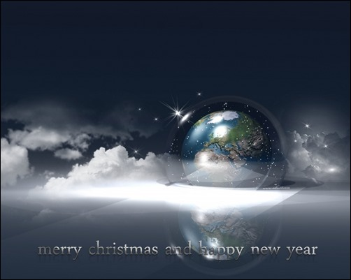Earth-and-Xmas-wallpapers