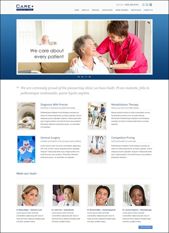 care-medical-and-health-blogging-wordpress-theme