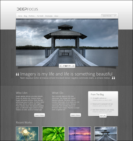 deepfocus-responsive-photography-theme