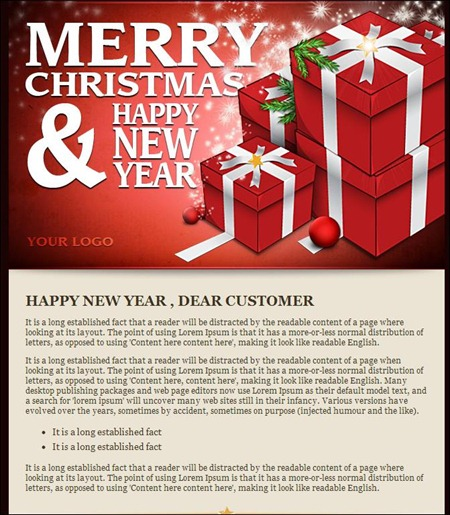 24 cheerful christmas newsletter templates creative cancreative can