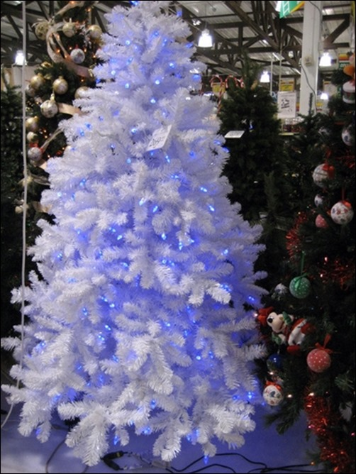 glowing blue tree