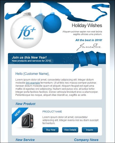 24 Cheerful Christmas Newsletter Templates Creative CanCreative Can – Corporate Newsletter Template