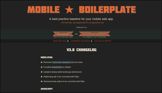 mobile-boilerplate