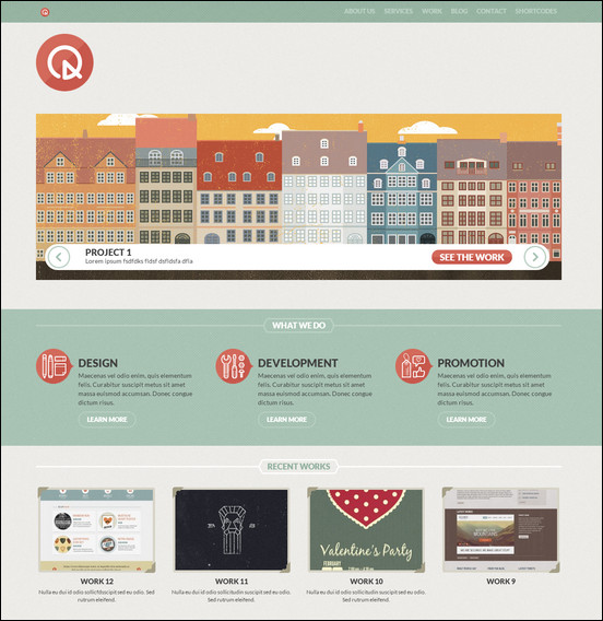 quartum-responsive-portfolio-wp-theme