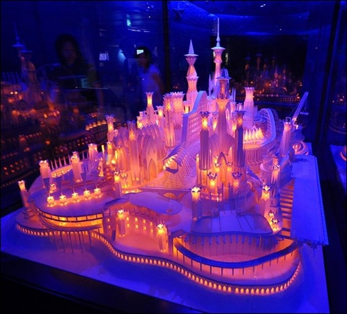A-Castle-on-the-Ocean-paper-sculptures
