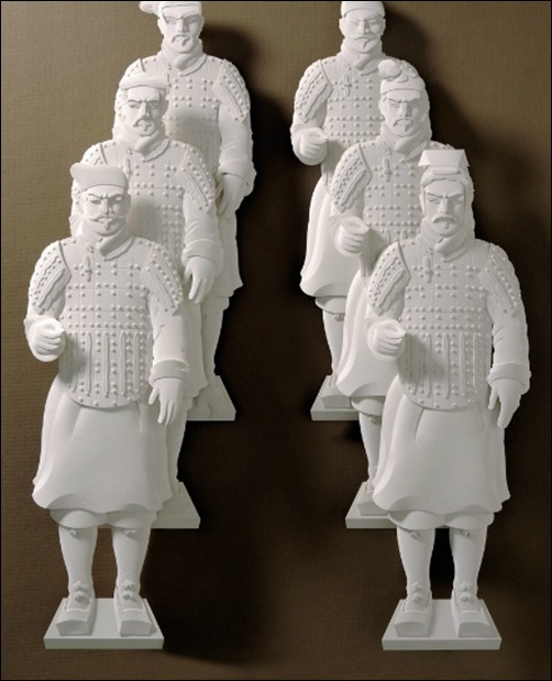 Chinese-Soldiers-paper-art