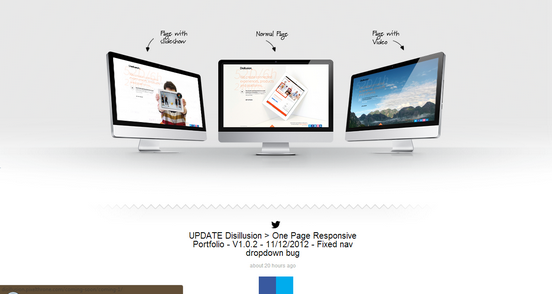 Disillusion under construction template