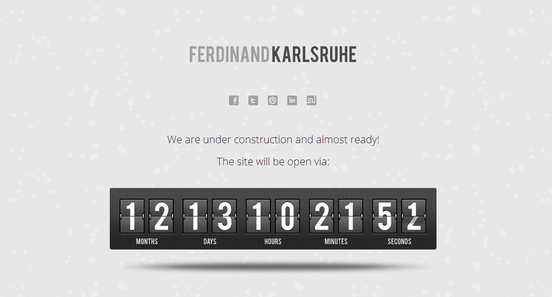 Ferdinand Karlruhe under construction template