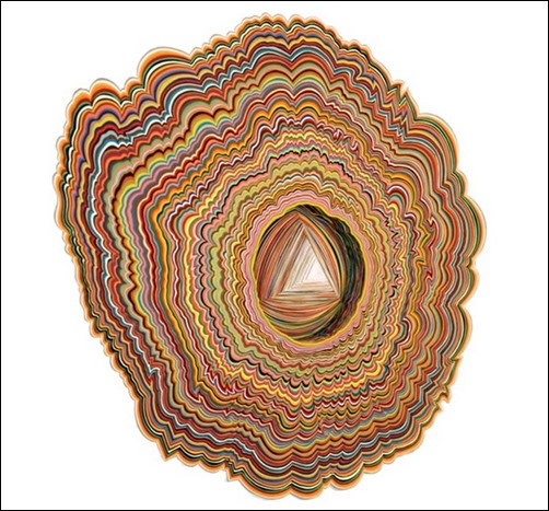 Microscopic-Entrance-paper-art