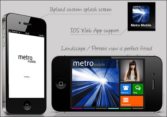 metro-mobile-premium-wordpress-mobile-template