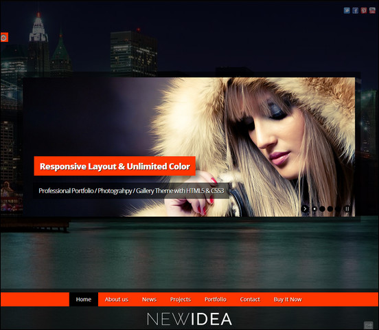 new-idea-responsive-layout-wordpress-theme
