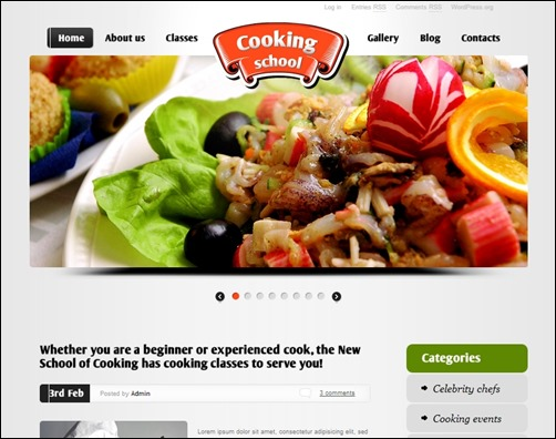 Cooking-School-education-wordpress-themes