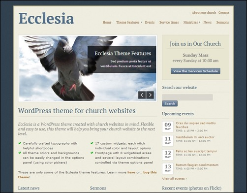 Ecclesia-nonprofit-wordpress-themes