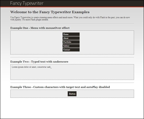 Fancy-Typewriter-jquery-menus-plugin