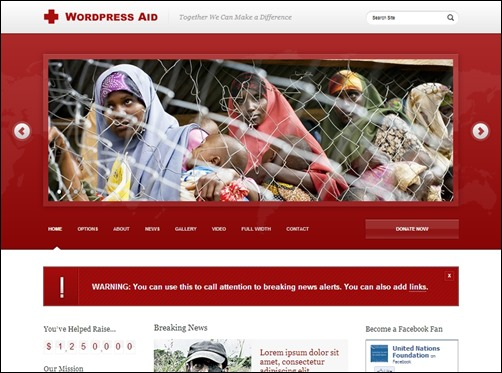 Wordpress-Aid-nonprofit-wordpress-themes