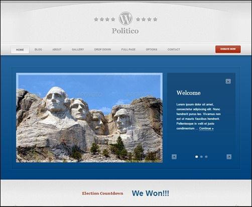 Wordpress-Politico-nonprofit-wordpress-themes