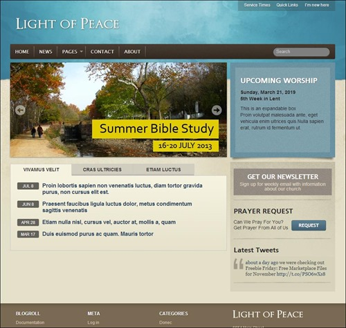 Engaging Church Website Templates Creative CanCreative Can - Church website templates