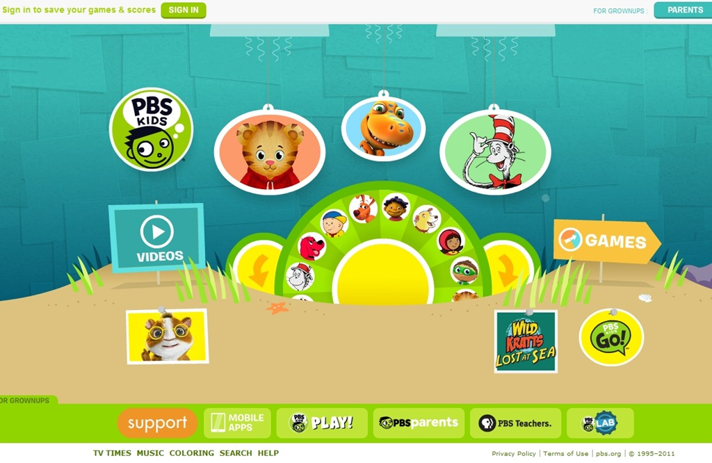40 Cuddly Websites For Kids Designs Inspiration