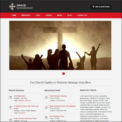 30+ Engaging Church Website Templates - Creative CanCreative Can