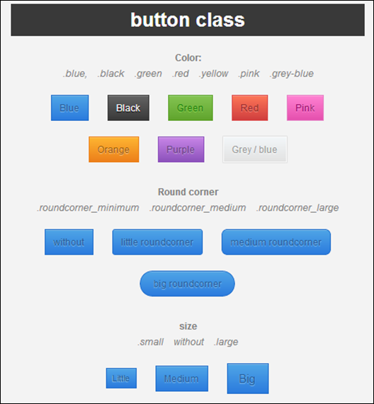 Animated Button Element - CSS3