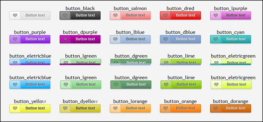 Beauttons - Beautiful CSS3 Buttons